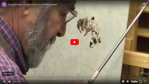Instructional Video - Greg Beecham, Confessions of a Wildlife Painter