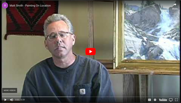 Instructional Video - Matt Smith, Painting on Location...The Sonoran Desert