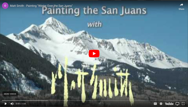 Instructional Video - Matt Smith, Winter Over the San Jan Juan